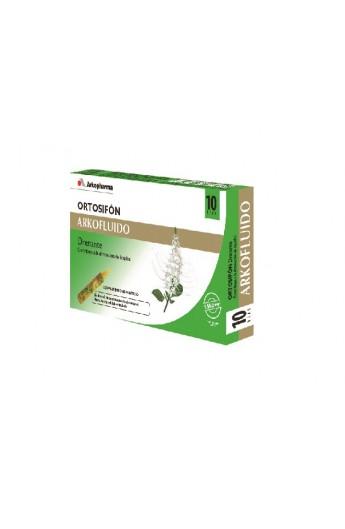 ORTOSIFON ARKOFLUIDO AMPOLLA BEBIBLE  15 ML 10 AMP