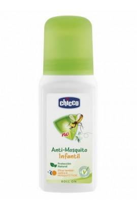 CHICCO ANTIMOSQUITOS REPELENTE USO HUMANO  ROLL- ON 60 ML