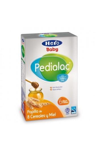 PEDIALAC PAPILLA 8 CEREALES Y MIEL HERO BABY 500 G