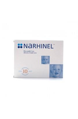 NARHINEL RECAMBIOS DESECHABLES 10 U.
