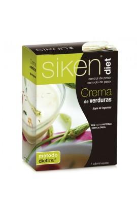 SIKEN DIET CREMA DE SELECCION DE 5 VERDURAS  22,5 G 7 SOBRES