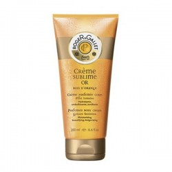 ROGER & GALLET CREMA PERFUMADA SUBLIME ORO BOIS D'ORANGE EFECTO LUMINOSO 200 ML
