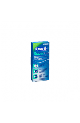 ORAL-B SEDA DENTAL SUPERFLOSS 50 U