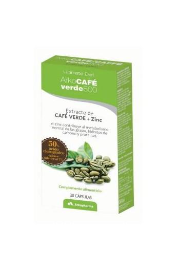 CAFE VERDE -800  30 CAPS