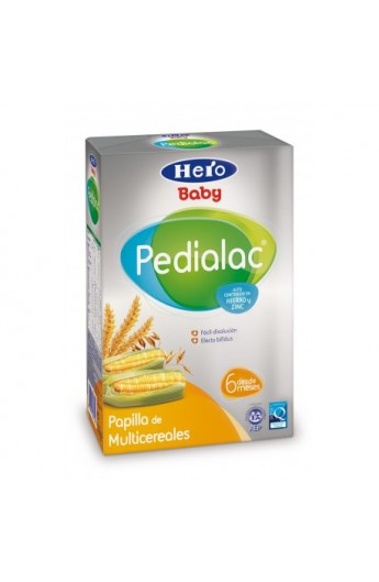 PEDIALAC PAPILLA 8 CEREALES HERO BABY 500 G