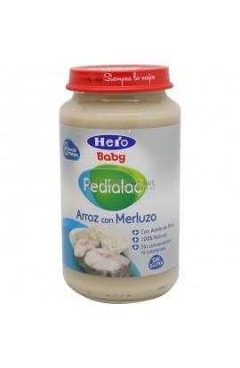 PEDIALAC ARROZ CON MERLUZA HERO BABY 250 G